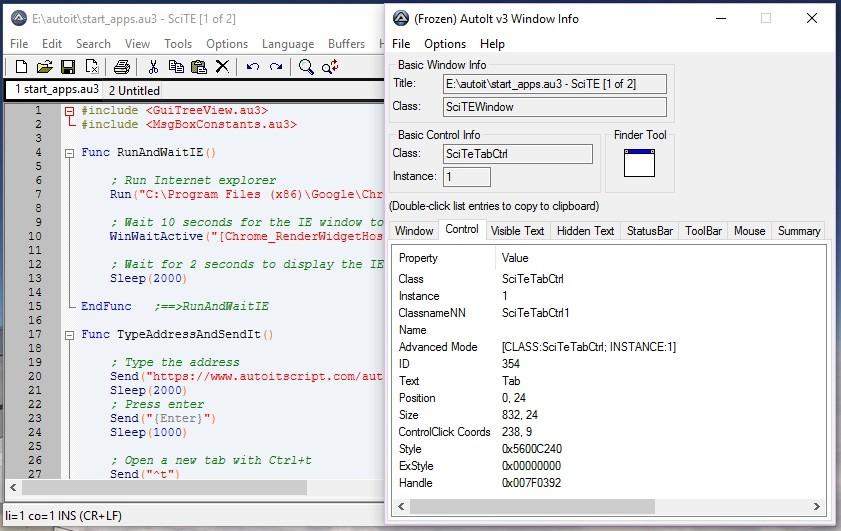 TSM - Automate it with AutoIt